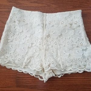 Pants - 🎀Lace shorts🎀